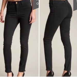 J BRAND The Deal Ankle Zip Skinny Jeans Sz 30
